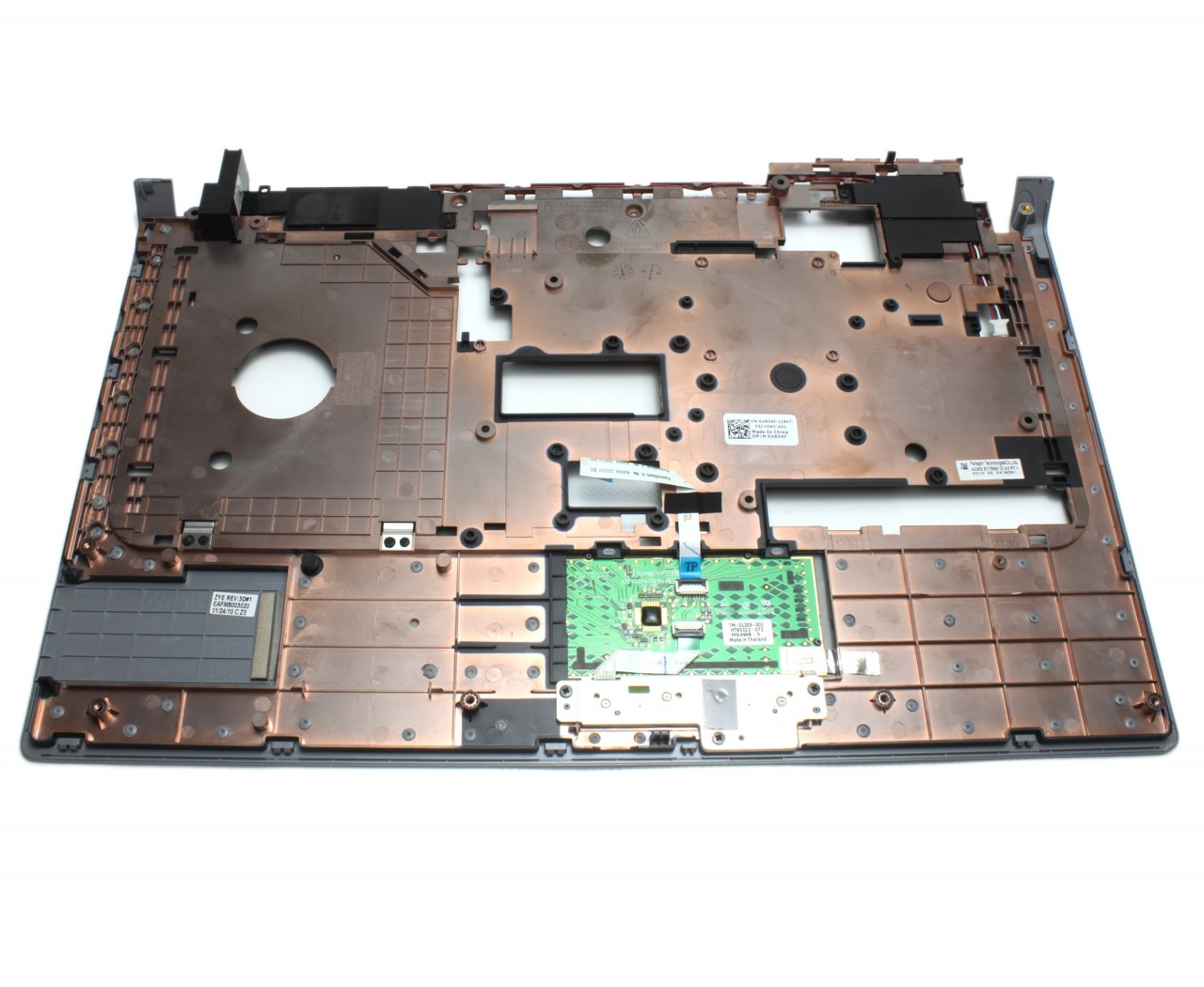 Palmrest Dell Studio 1557 Argintiu cu touchpad imagine powerlaptop.ro 2021