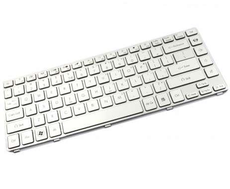 Tastatura Acer  V3-471G argintie. Keyboard Acer  V3-471G argintie. Tastaturi laptop Acer  V3-471G argintie. Tastatura notebook Acer  V3-471G argintie