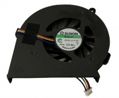 Cooler laptop HP  650 Mufa 4 pini. Ventilator procesor HP  650. Sistem racire laptop HP  650