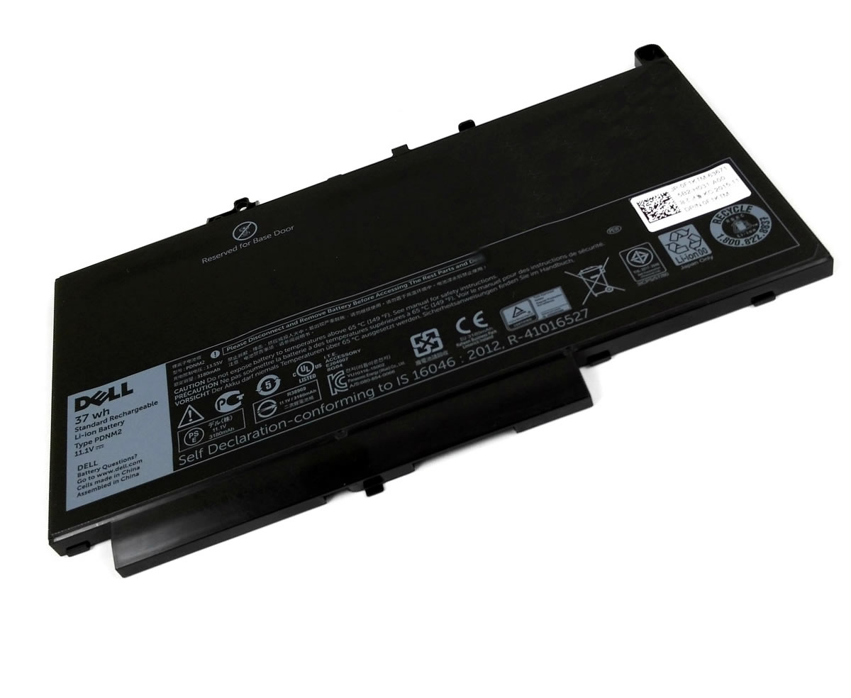 Baterie Dell  J60J5 Originala 37Wh. Acumulator Dell  J60J5. Baterie laptop Dell  J60J5. Acumulator laptop Dell  J60J5. Baterie notebook Dell  J60J5