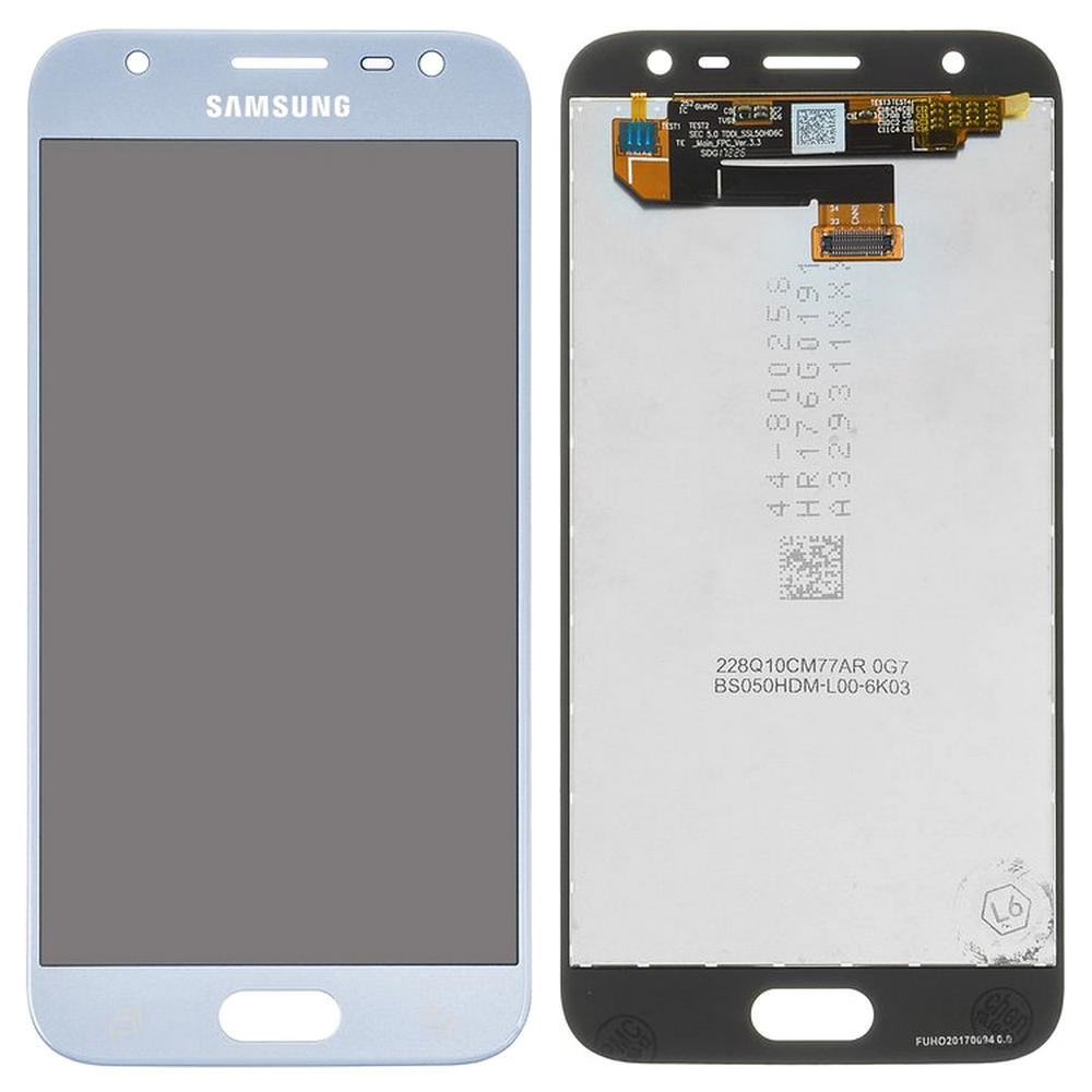 Display Samsung Galaxy J3 2017 J330 J330F Display TFT AAA Blue Albastru