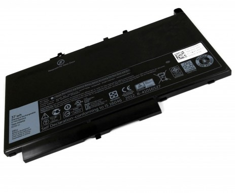 Baterie Dell Latitude E7270 37Wh Refurbished. Acumulator Dell Latitude E7270. Baterie laptop Dell Latitude E7270. Acumulator laptop Dell Latitude E7270. Baterie notebook Dell Latitude E7270
