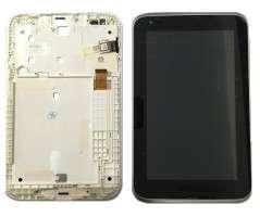 Ansamblu Display LCD  + Touchscreen Lenovo IdeaTab A1000 A1000F ORIGINAL. Modul Ecran + Digitizer Lenovo IdeaTab A1000 A1000F ORIGINAL