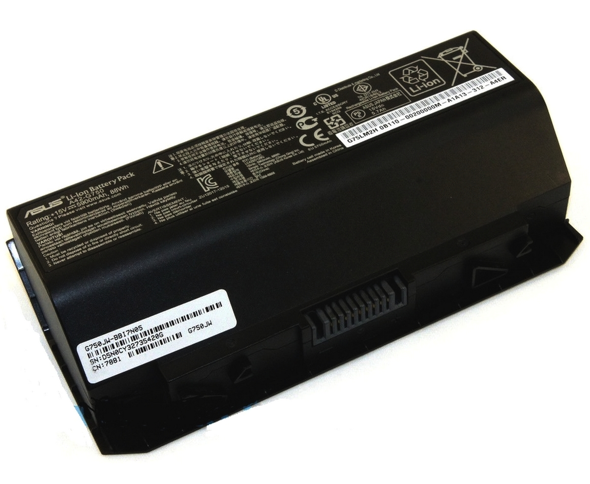 Baterie Asus G75VW Originala imagine
