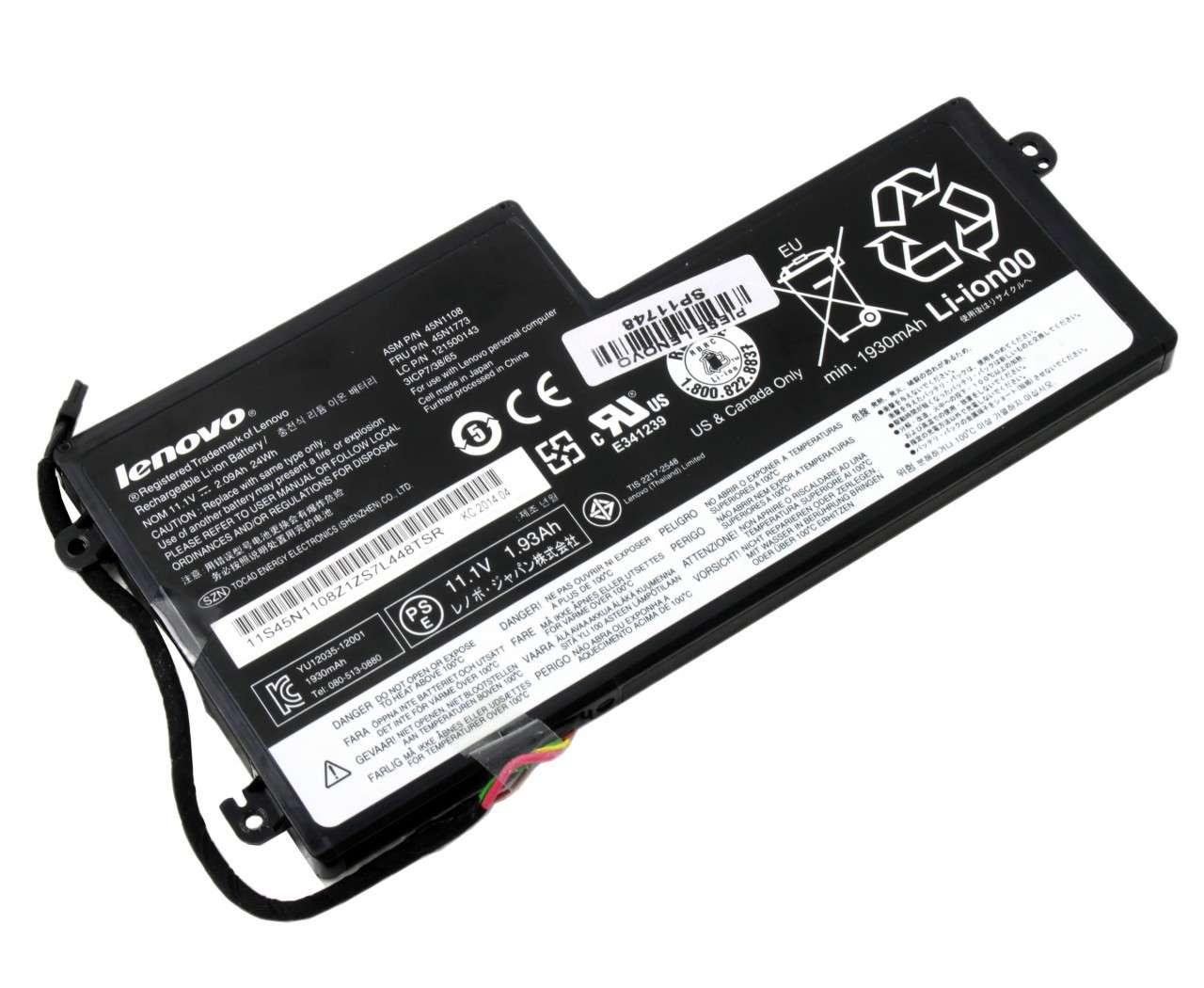 Baterie Lenovo ThinkPad T530 2393 Originala 24Wh imagine powerlaptop.ro 2021