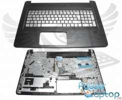 Tastatura HP  4463246700012 argintie cu Palmrest negru iluminata backlit. Keyboard HP  4463246700012 argintie cu Palmrest negru. Tastaturi laptop HP  4463246700012 argintie cu Palmrest negru. Tastatura notebook HP  4463246700012 argintie cu Palmrest negru