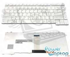 Tastatura Toshiba Portege R100 alba. Keyboard Toshiba Portege R100 alba. Tastaturi laptop Toshiba Portege R100 alba. Tastatura notebook Toshiba Portege R100 alba