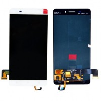Ansamblu Display LCD + Touchscreen Allview P8 Energy Alb . Ecran + Digitizer Allview P8 Energy Alb