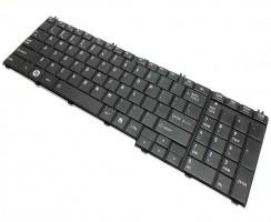 Tastatura Toshiba Satellite L655 neagra. Keyboard Toshiba Satellite L655 neagra. Tastaturi laptop Toshiba Satellite L655 neagra. Tastatura notebook Toshiba Satellite L655 neagra