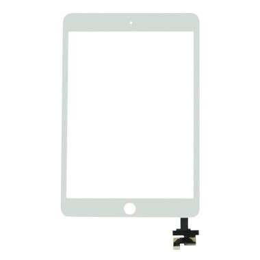 Digitizer Touchscreen Apple iPad Mini 3 A1599 A1600 Alb. Geam Sticla Tableta Apple iPad Mini 3 A1599 A1600 Alb