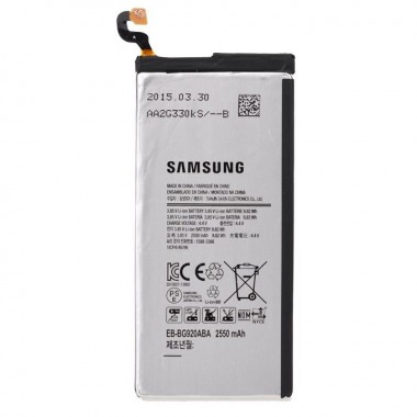 Baterie Samsung Galaxy S6 G920F. Acumulator Samsung Galaxy S6 G920F. Baterie telefon Samsung Galaxy S6 G920F. Acumulator telefon Samsung Galaxy S6 G920F. Baterie smartphone Samsung Galaxy S6 G920F