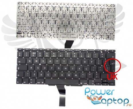 Tastatura Apple MacBook Air A1370 2012. Keyboard Apple MacBook Air A1370 2012. Tastaturi laptop Apple MacBook Air A1370 2012. Tastatura notebook Apple MacBook Air A1370 2012