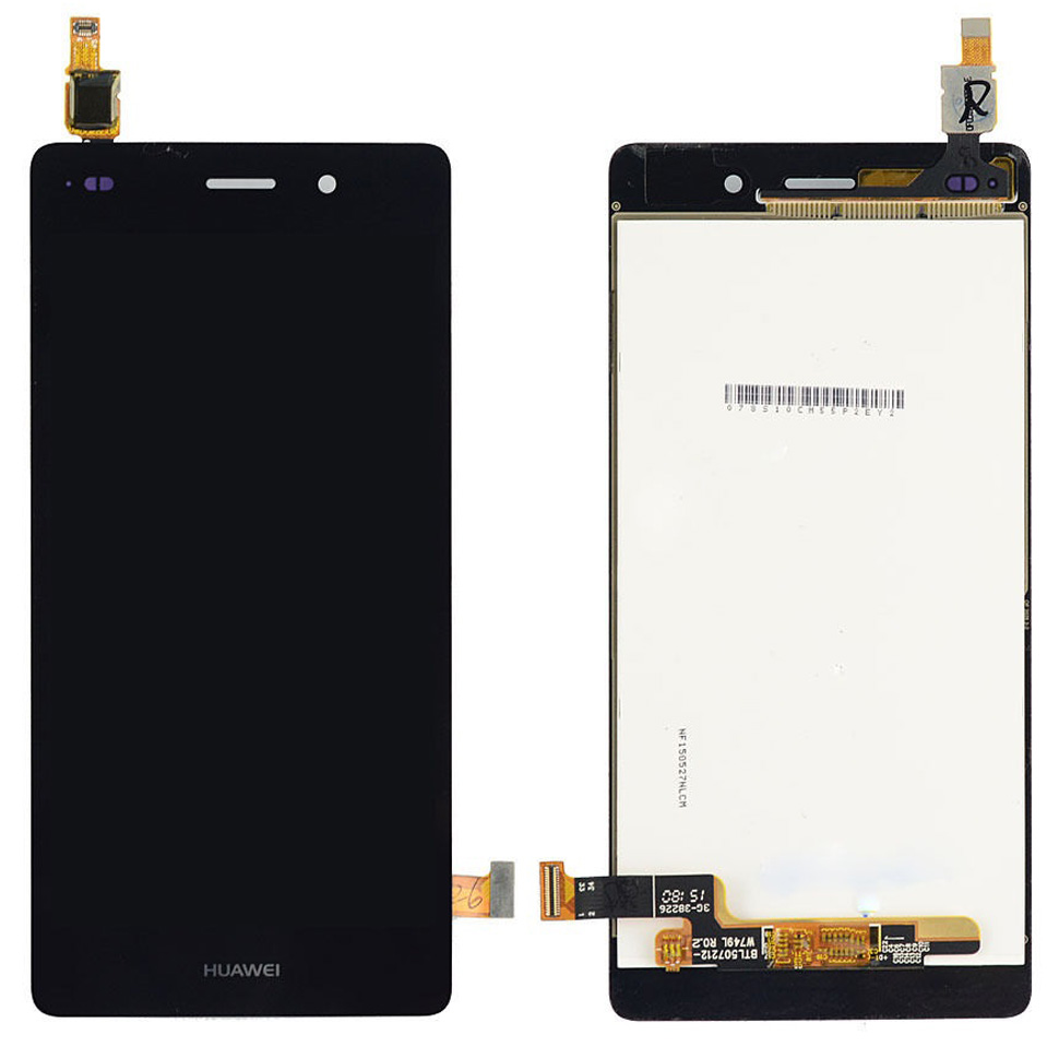 Display Huawei P8 Lite 2015 ALE L04 Black Negru imagine