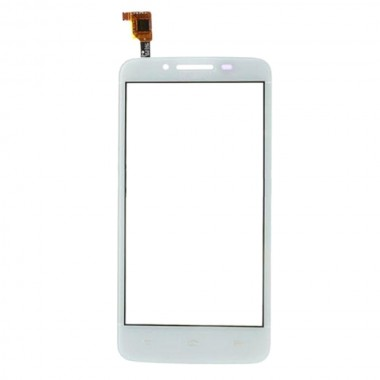 Touchscreen Digitizer Huawei Ascend Y511 White Alb. Geam Sticla Smartphone Telefon Mobil Huawei Ascend Y511 White Alb