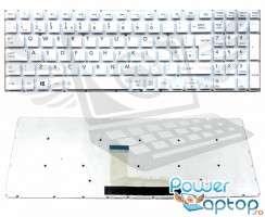 Tastatura Toshiba Satellite L50-B Alba. Keyboard Toshiba Satellite L50-B. Tastaturi laptop Toshiba Satellite L50-B. Tastatura notebook Toshiba Satellite L50-B