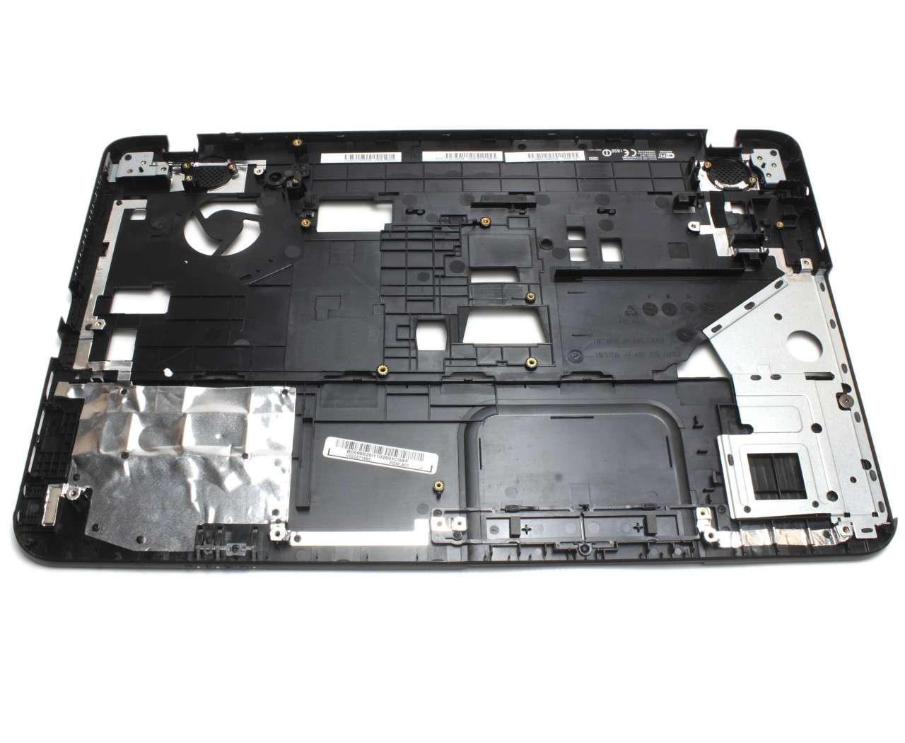 Palmrest Toshiba V000270650 Negru fara touchpad imagine powerlaptop.ro 2021