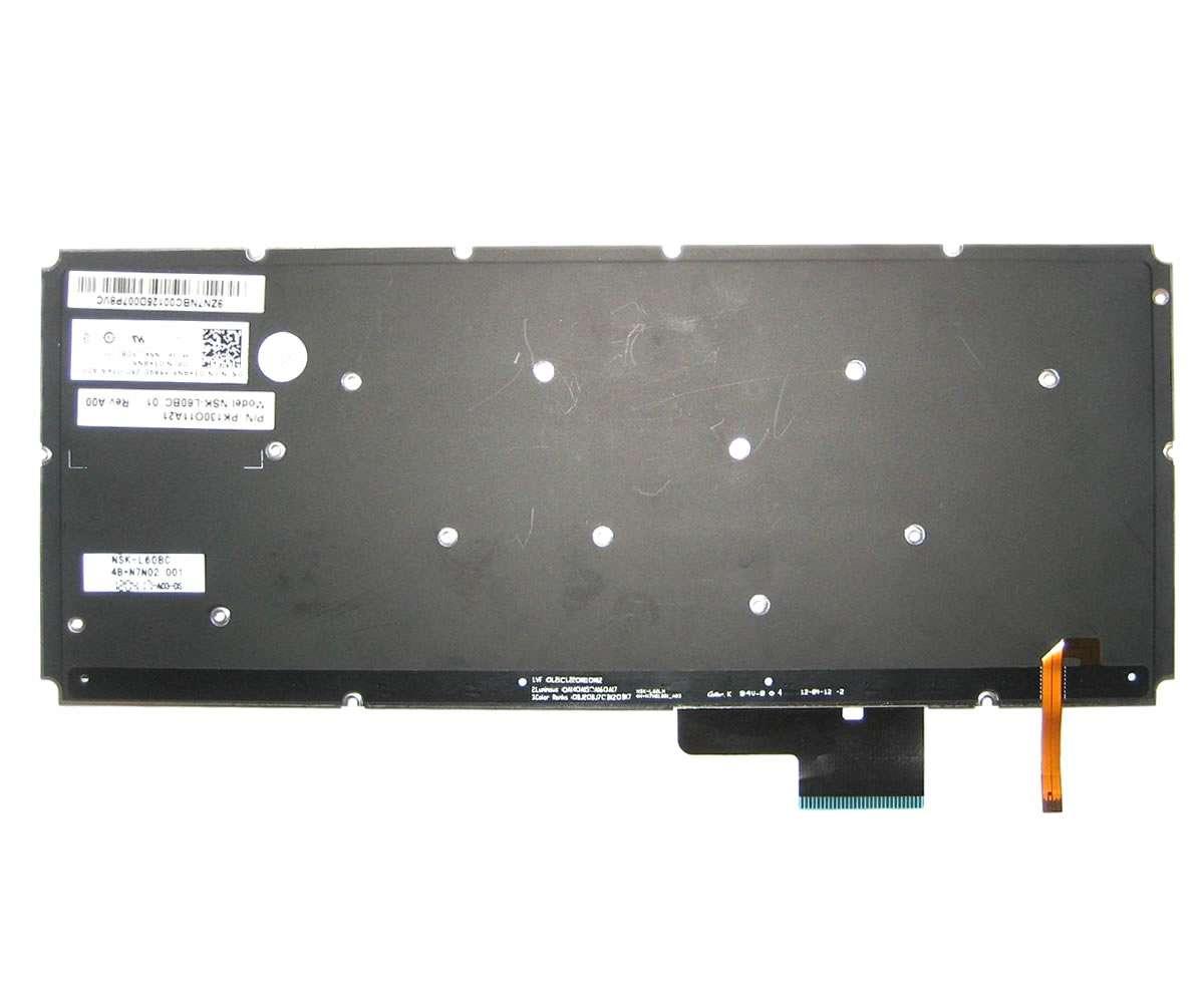 Tastatura Dell XPS 14 L421X layout US fara rama enter mic iluminata backlit imagine powerlaptop.ro 2021