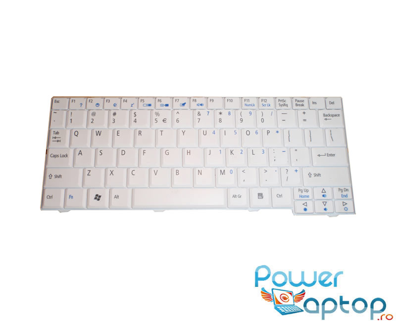 Tastatura Acer Aspire One A150-BGp alba imagine