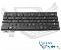 Tastatura Samsung  NP530U4C neagra. Keyboard Samsung  NP530U4C. Tastaturi laptop Samsung  NP530U4C. Tastatura notebook Samsung  NP530U4C