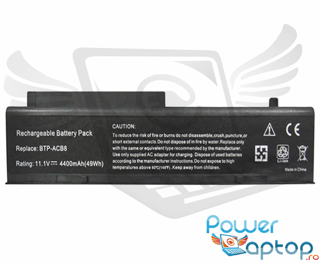 Baterie Fujitsu Siemens Amilo Pro V2045 imagine powerlaptop.ro 2021