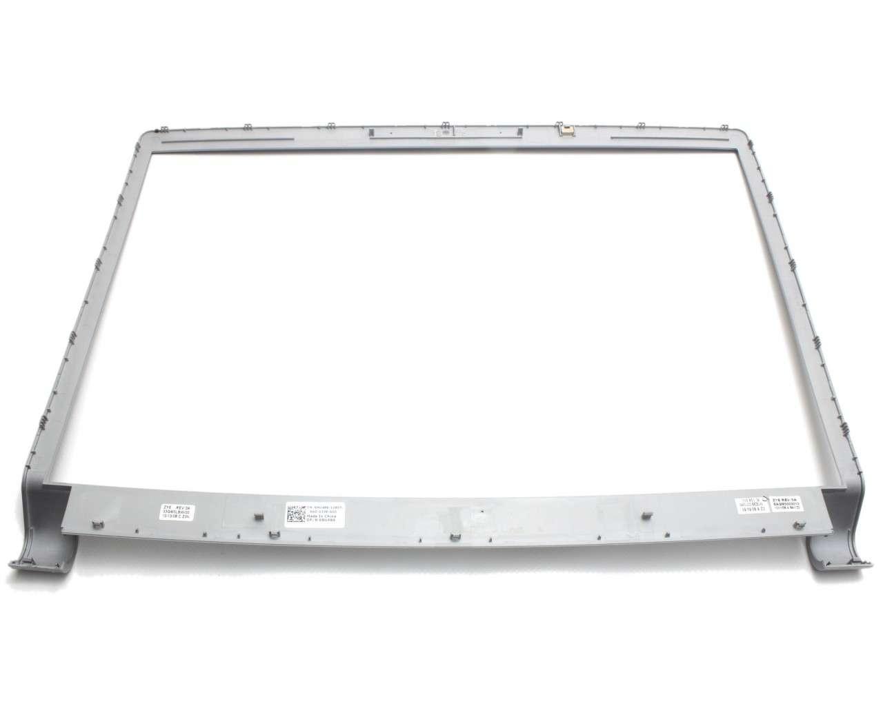 Rama Display Dell 0NU486 Bezel Front Cover Argintie imagine powerlaptop.ro 2021