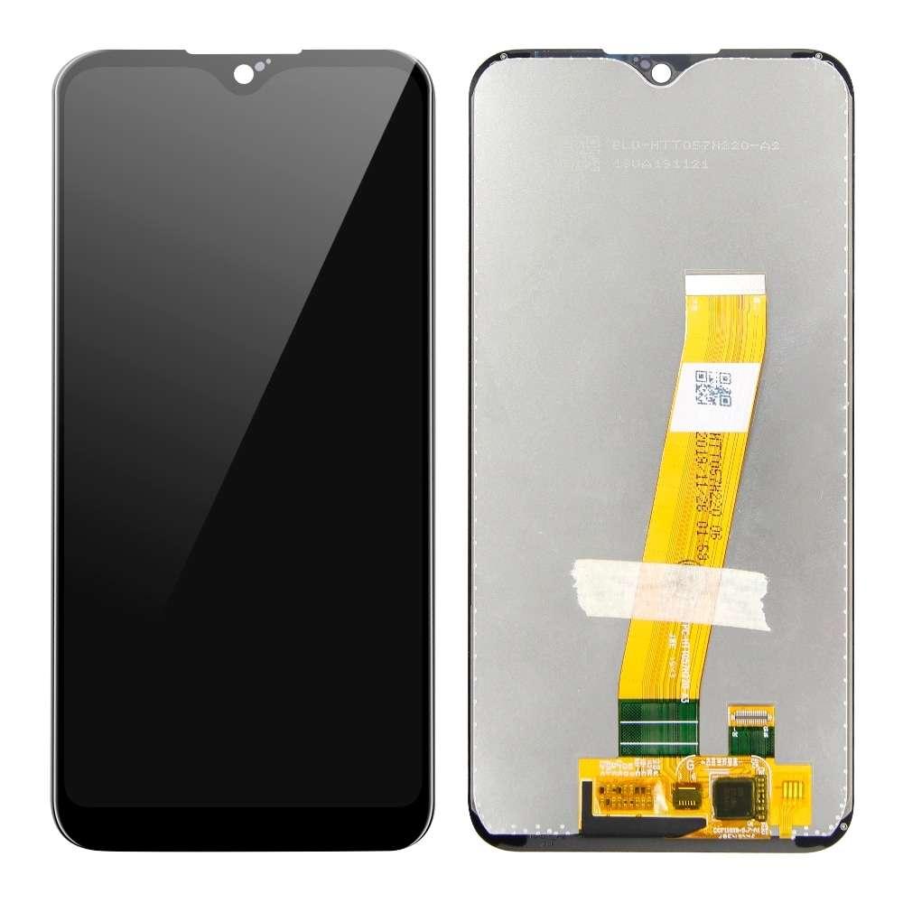 Display Samsung Galaxy A01 A015 Display TFT LCD Black Negru imagine powerlaptop.ro 2021