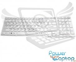 Tastatura Fujitsu Lifebook A555 alba. Keyboard Fujitsu Lifebook A555 alba. Tastaturi laptop Fujitsu Lifebook A555 alba. Tastatura notebook Fujitsu Lifebook A555 alba