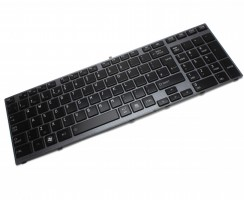 Tastatura Toshiba  9Z.N4YBC.201M iluminata backlit. Keyboard Toshiba  9Z.N4YBC.201M iluminata backlit. Tastaturi laptop Toshiba  9Z.N4YBC.201M iluminata backlit. Tastatura notebook Toshiba  9Z.N4YBC.201M iluminata backlit