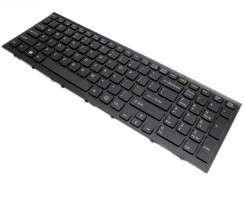 Tastatura Sony Vaio VPCEH neagra. Keyboard Sony Vaio VPCEH neagra. Tastaturi laptop Sony Vaio VPCEH neagra. Tastatura notebook Sony Vaio VPCEH neagra