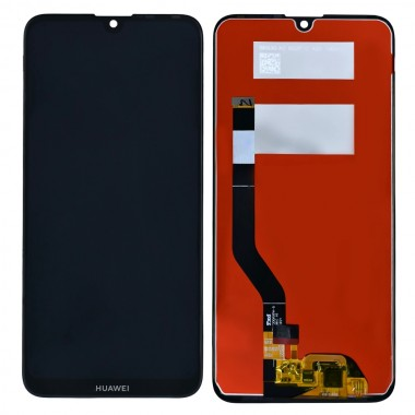 Ansamblu Display LCD + Touchscreen Huawei Y7 Pro 2019 DUB-LX2 Black Negru . Ecran + Digitizer Huawei Y7 Pro 2019 DUB-LX2 Black Negru