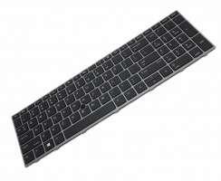 Tastatura HP Zbook 17 iluminata backlit. Keyboard HP Zbook 17 iluminata backlit. Tastaturi laptop HP Zbook 17 iluminata backlit. Tastatura notebook HP Zbook 17 iluminata backlit