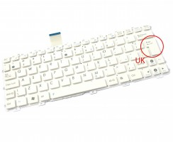 Tastatura Asus Eee PC 1015PED alba. Keyboard Asus Eee PC 1015PED. Tastaturi laptop Asus Eee PC 1015PED. Tastatura notebook Asus Eee PC 1015PED