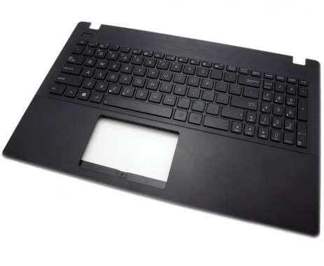 Tastatura Asus  90NB0342-R30270 neagra cu Palmrest negru. Keyboard Asus  90NB0342-R30270 neagra cu Palmrest negru. Tastaturi laptop Asus  90NB0342-R30270 neagra cu Palmrest negru. Tastatura notebook Asus  90NB0342-R30270 neagra cu Palmrest negru