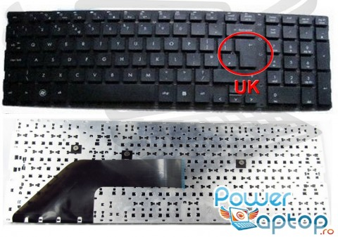 Tastatura HP ProBook 4520S. Keyboard HP ProBook 4520S. Tastaturi laptop HP ProBook 4520S. Tastatura notebook HP ProBook 4520S