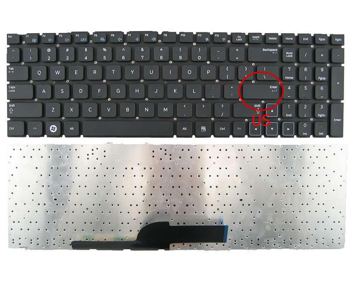 Tastatura Samsung NP305V5A layout US fara rama enter mic imagine powerlaptop.ro 2021
