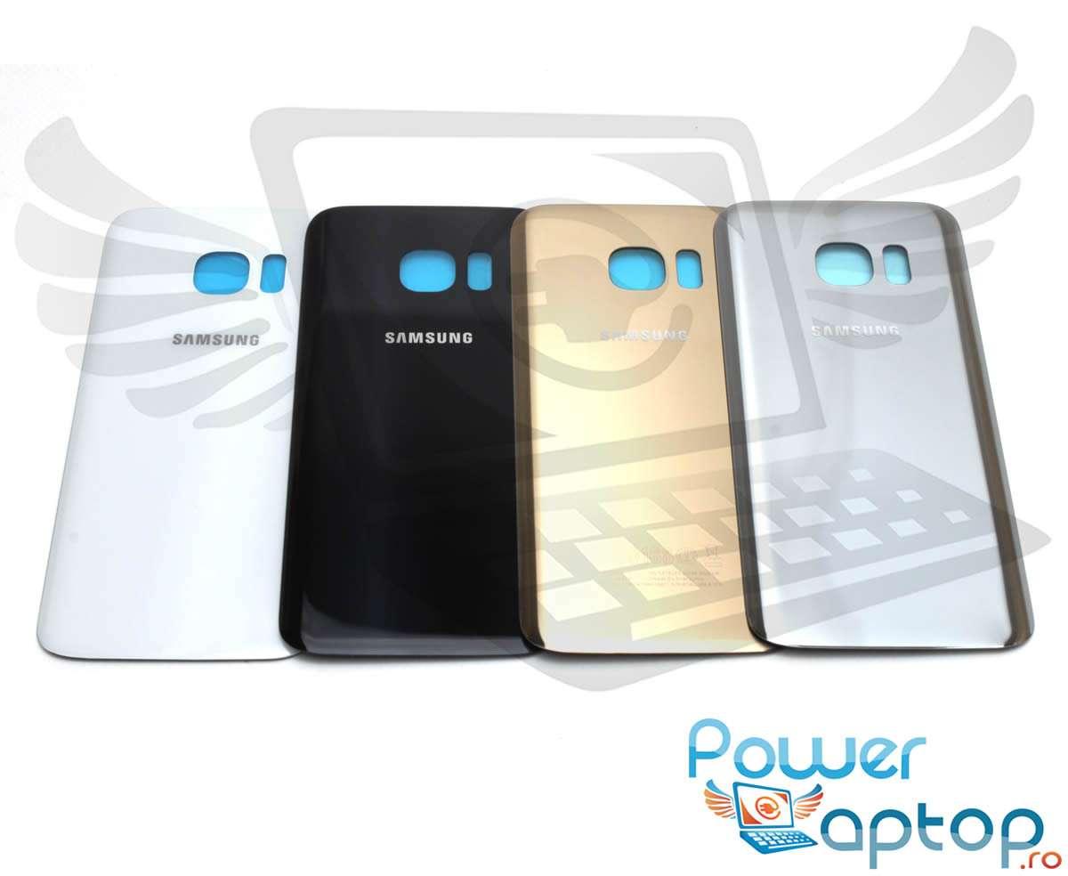 Capac Baterie Samsung Galaxy S7 G930 Black Capac Spate imagine powerlaptop.ro 2021