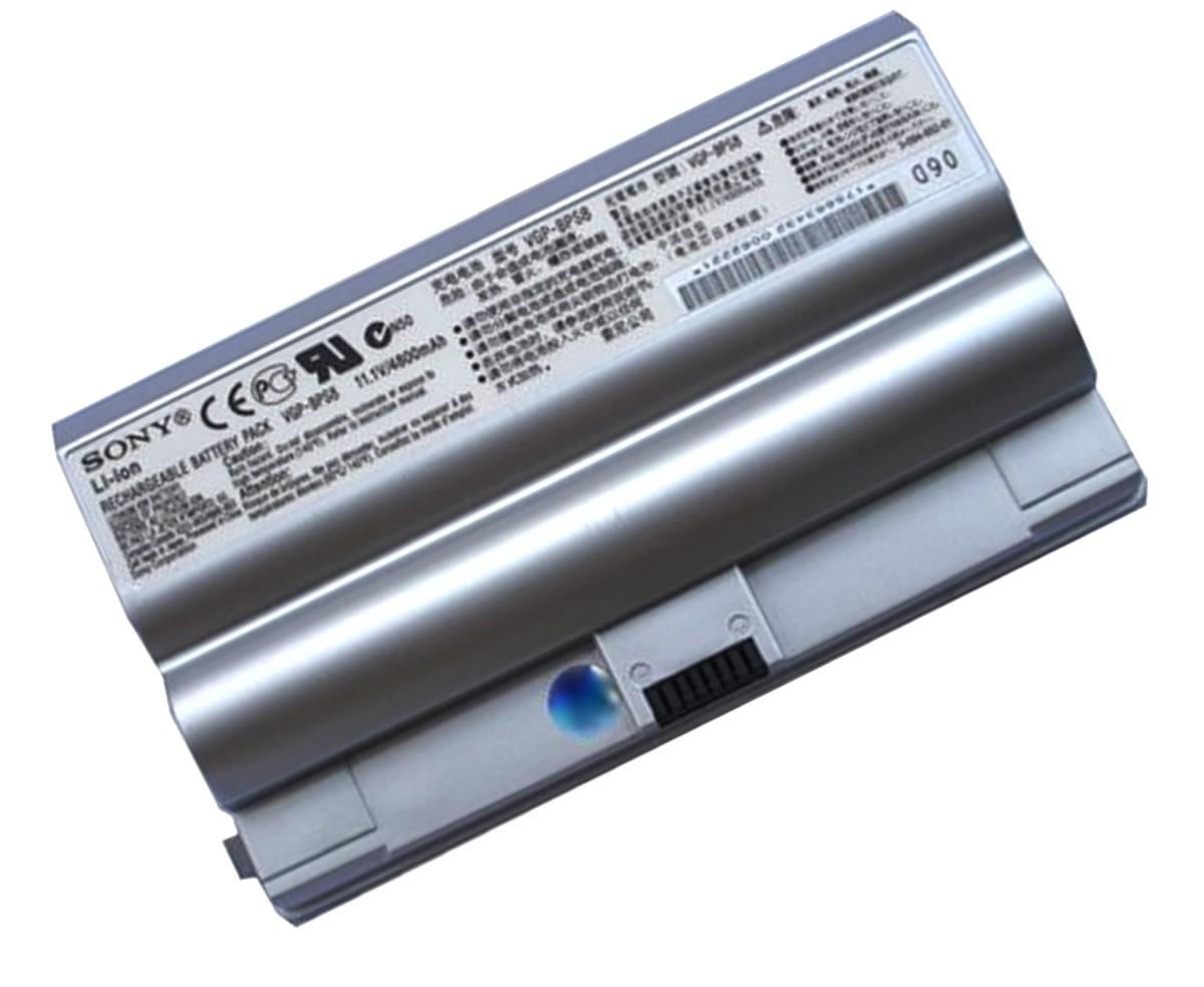 Baterie Sony Vaio VGN FZ90S Originala argintie imagine