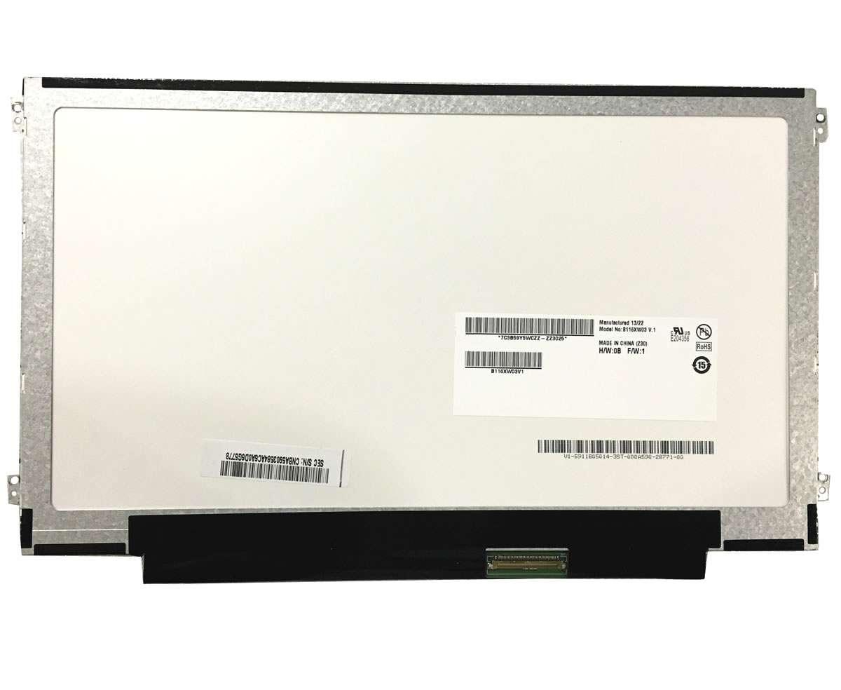 Display laptop Lenovo Ideapad S206 Ecran 11.6 1366x768 40 pini led lvds imagine powerlaptop.ro 2021