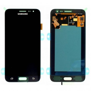 Ansamblu Display LCD + Touchscreen Samsung Galaxy J3 2016 J320M Black Negru . Ecran + Digitizer Samsung Galaxy J3 2016 J320M Negru Black
