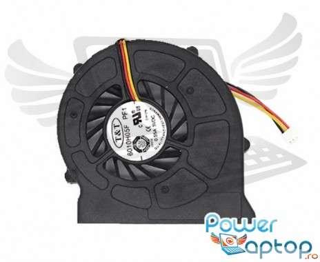 Cooler laptop MSI  MS1731. Ventilator procesor MSI  MS1731. Sistem racire laptop MSI  MS1731