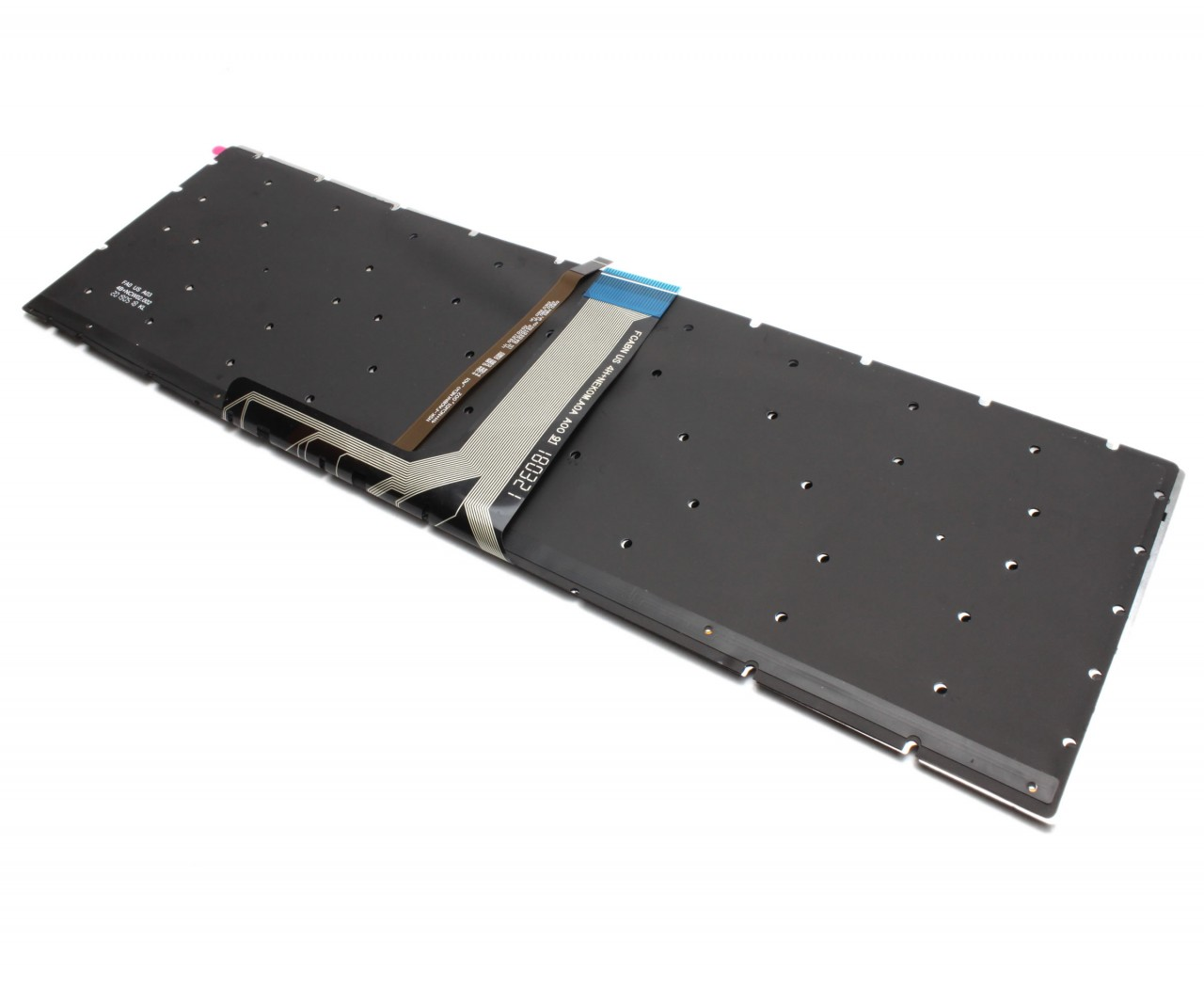 Tastatura MSI GF72VR 7RF iluminata layout US fara rama enter mic imagine powerlaptop.ro 2021