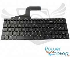 Tastatura Samsung  RV711 neagra. Keyboard Samsung  RV711. Tastaturi laptop Samsung  RV711. Tastatura notebook Samsung  RV711