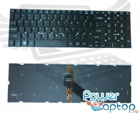 Tastatura Acer  1F144505205M iluminata backlit. Keyboard Acer  1F144505205M iluminata backlit. Tastaturi laptop Acer  1F144505205M iluminata backlit. Tastatura notebook Acer  1F144505205M iluminata backlit