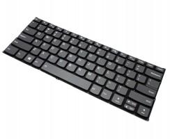 Tastatura Lenovo 730-15 Gri iluminata backlit. Keyboard Lenovo 730-15 Gri. Tastaturi laptop Lenovo 730-15 Gri. Tastatura notebook Lenovo 730-15 Gri