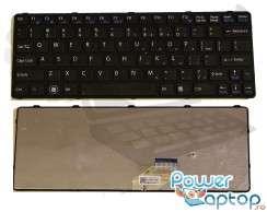 Tastatura Sony Vaio SVE11135CXW neagra. Keyboard Sony Vaio SVE11135CXW neagra. Tastaturi laptop Sony Vaio SVE11135CXW neagra. Tastatura notebook Sony Vaio SVE11135CXW neagra