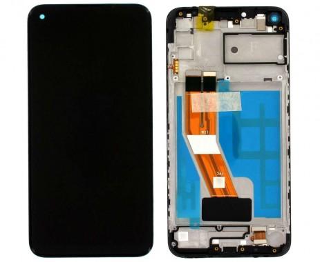 Ansamblu Display LCD + Touchscreen Original Service Pack Samsung Galaxy M11 M115 Black Negru. Ecran + Digitizer Original Service Pack Samsung Galaxy M11 M115 Black Negru