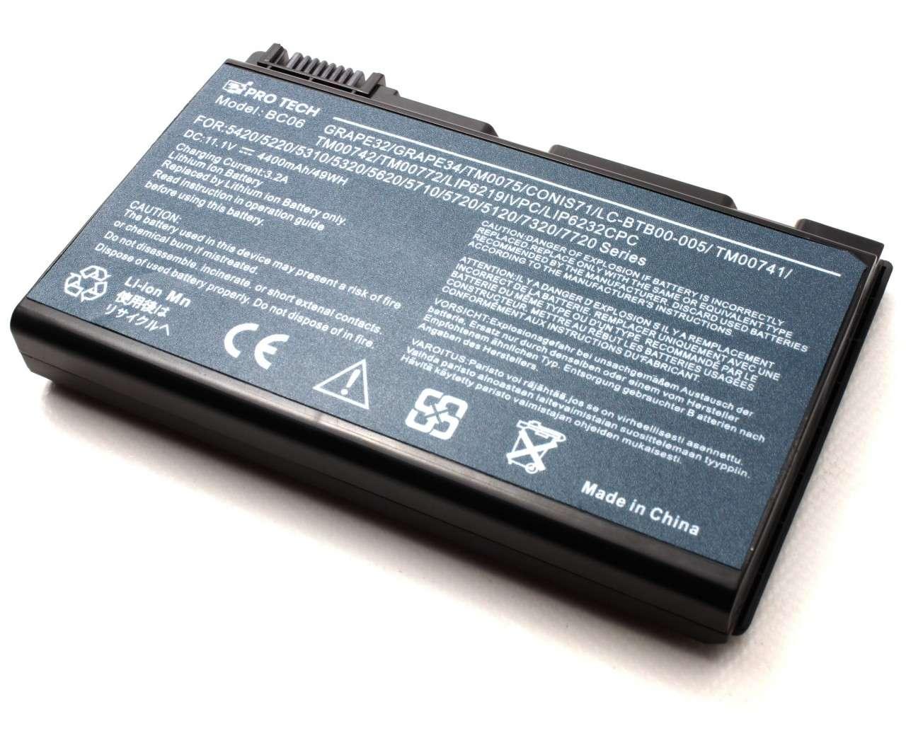 Baterie Acer LIP8216IVPC SY6 imagine powerlaptop.ro 2021