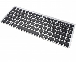Tastatura Sony Vaio VGN-FW94HS neagra cu rama gri. Keyboard Sony Vaio VGN-FW94HS neagra cu rama gri. Tastaturi laptop Sony Vaio VGN-FW94HS neagra cu rama gri. Tastatura notebook Sony Vaio VGN-FW94HS neagra cu rama gri