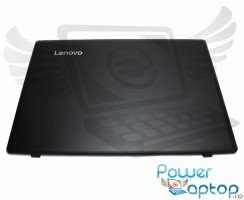 Carcasa Display Lenovo IdeaPad 110-15IBR. Cover Display Lenovo IdeaPad 110-15IBR. Capac Display Lenovo IdeaPad 110-15IBR Neagra