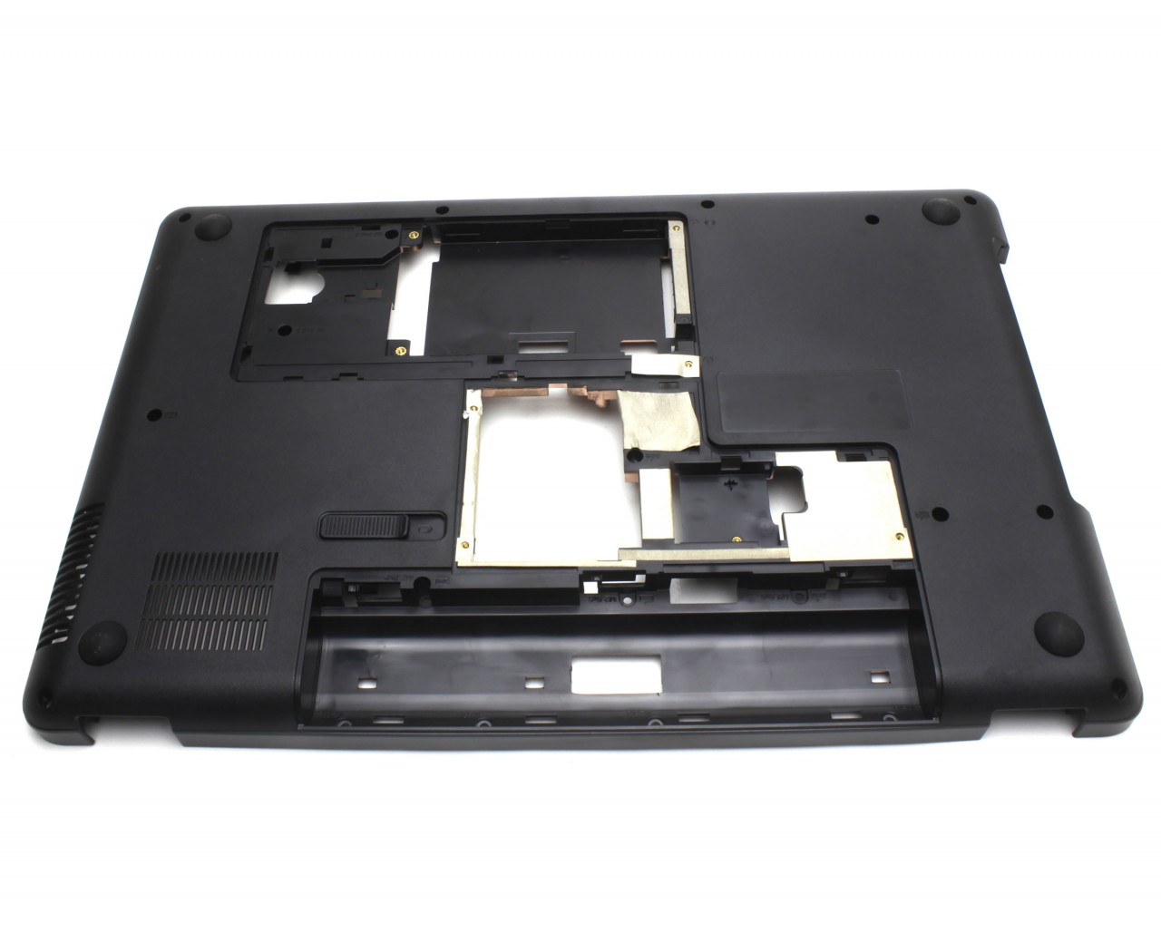 Bottom Case HP Compaq G56 122US Carcasa Inferioara Neagra imagine